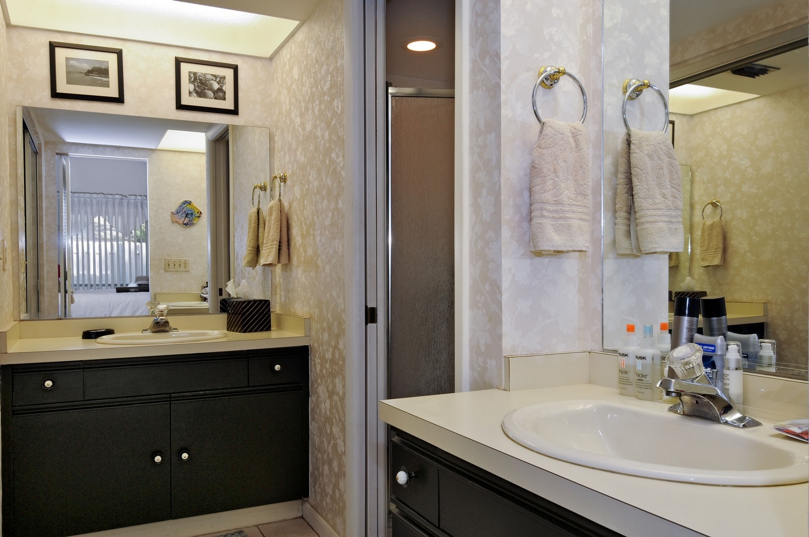 Real Estate Photography - 795 Meadowland Dr., A, Naples, FL, 34108 - Master Bathroom