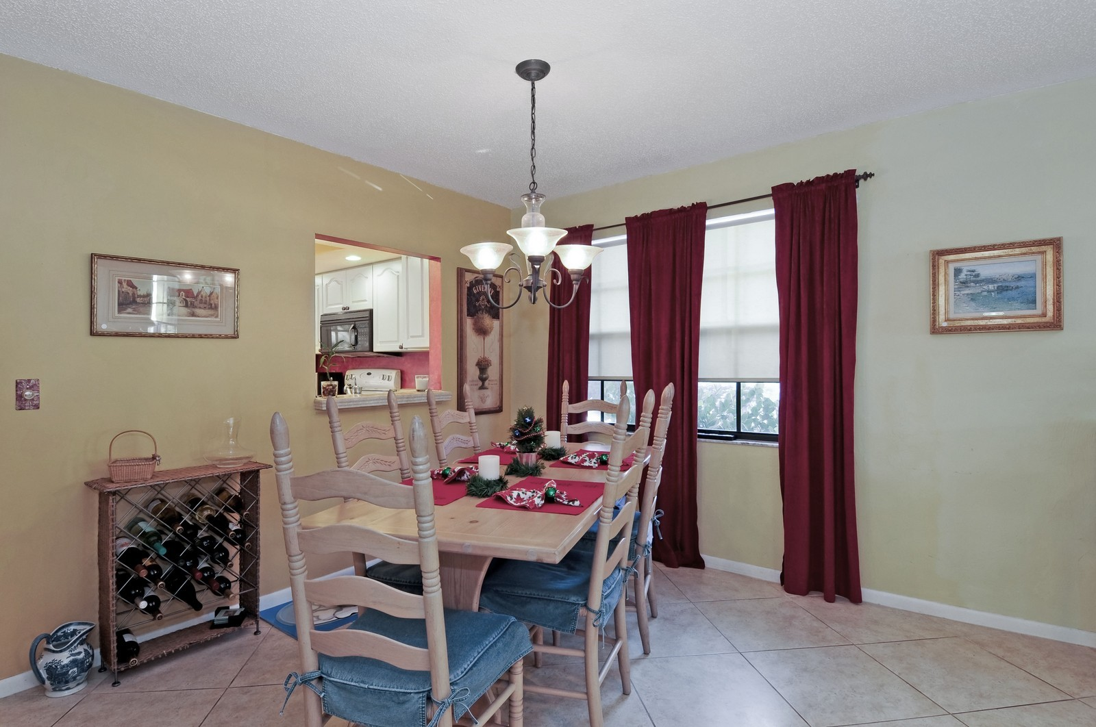 Real Estate Photography - 795 Meadowland Dr., A, Naples, FL, 34108 - Dining Room