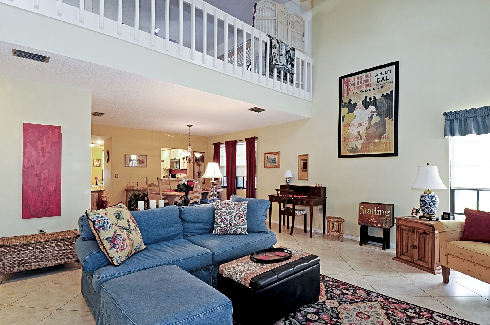 Real Estate Photography - 795 Meadowland Dr., A, Naples, FL, 34108 - Living Room / Dining Room