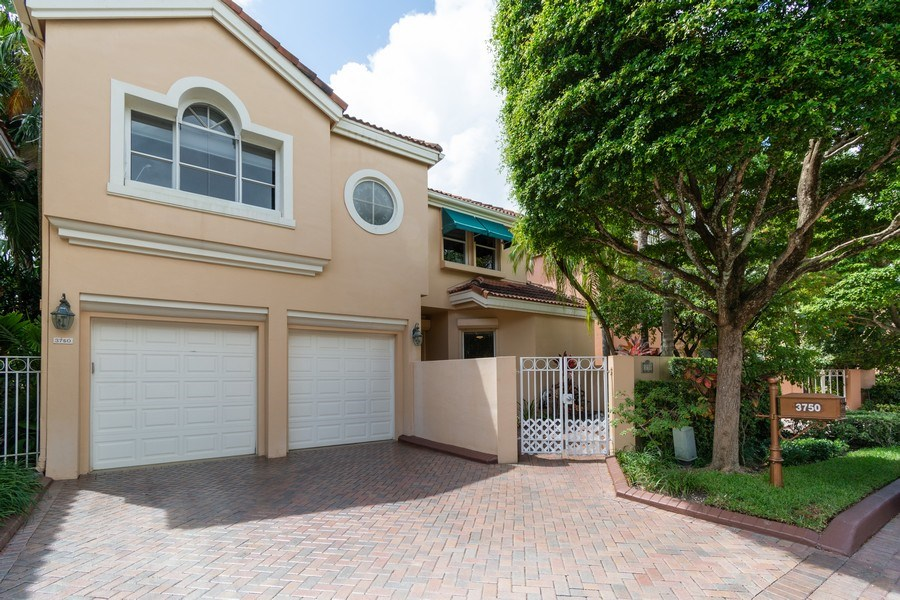 Real Estate Photography - 3750 NE 208 St, Aventura, FL, 33180 - Front View