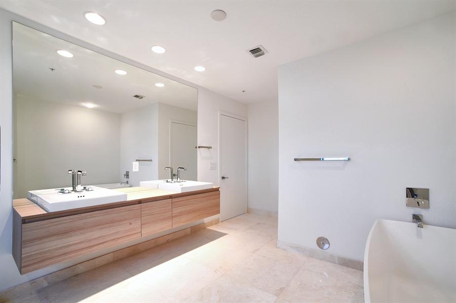 Real Estate Photography - 17301 Biscayne Blvd., LPH8, Aventura, FL, 33160 - Master Bedroom Closet