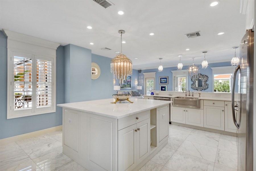 Real Estate Photography - 292 14th Ave. South, A B, Naples, FL, 34102 - Kitchen
