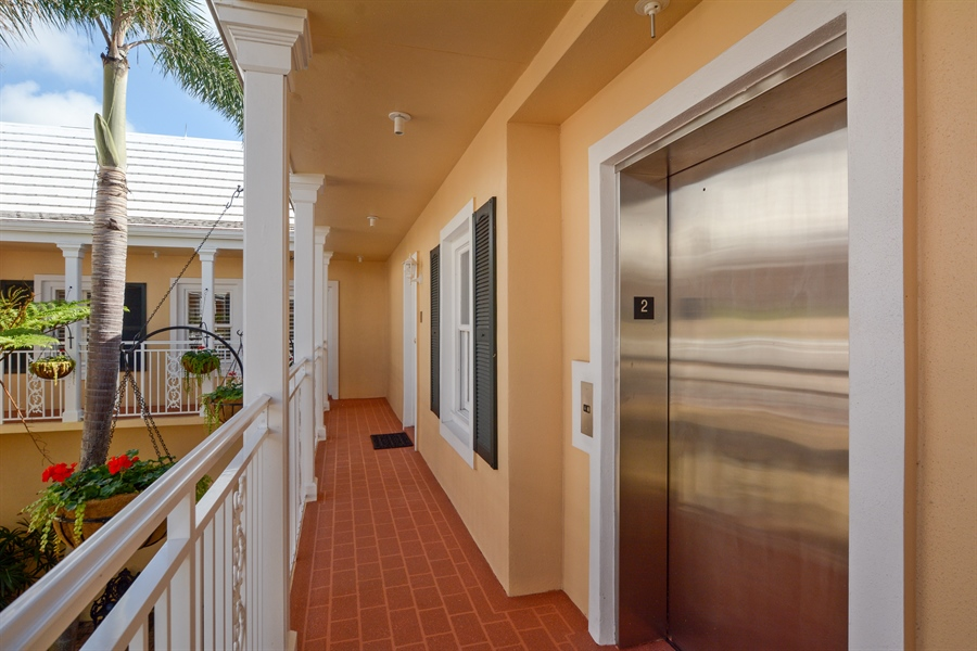 Real Estate Photography - 292 14th Ave. South, A B, Naples, FL, 34102 - Elevator