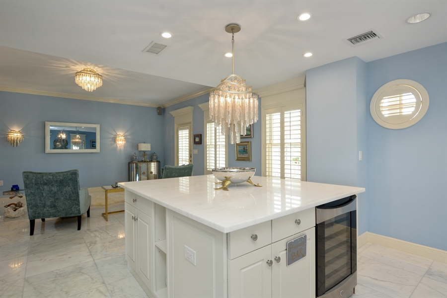 Real Estate Photography - 292 14th Ave. South, A B, Naples, FL, 34102 - Family Room / Kitchen
