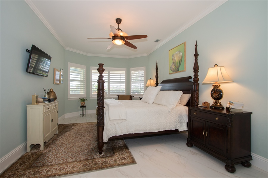 Real Estate Photography - 11361 Longwater Chase, Fort Myers, FL, 33908 - Master Bedroom