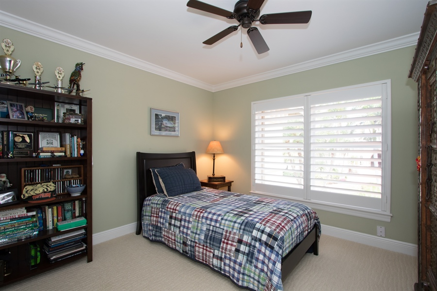 Real Estate Photography - 11361 Longwater Chase, Fort Myers, FL, 33908 - 3rd Bedroom