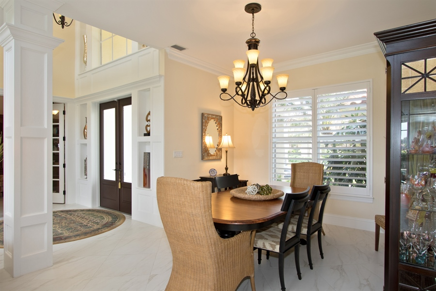 Real Estate Photography - 11361 Longwater Chase, Fort Myers, FL, 33908 - Dining Room