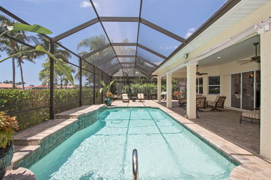 Real Estate Photography - 11361 Longwater Chase, Fort Myers, FL, 33908 - Pool