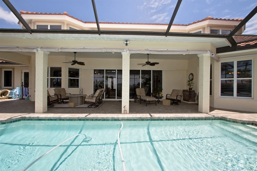 Real Estate Photography - 11361 Longwater Chase, Fort Myers, FL, 33908 - Outdoor Pool