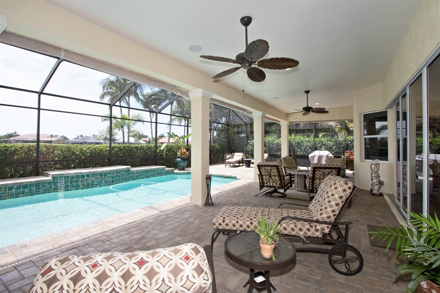 Real Estate Photography - 11361 Longwater Chase, Fort Myers, FL, 33908 - Lanai
