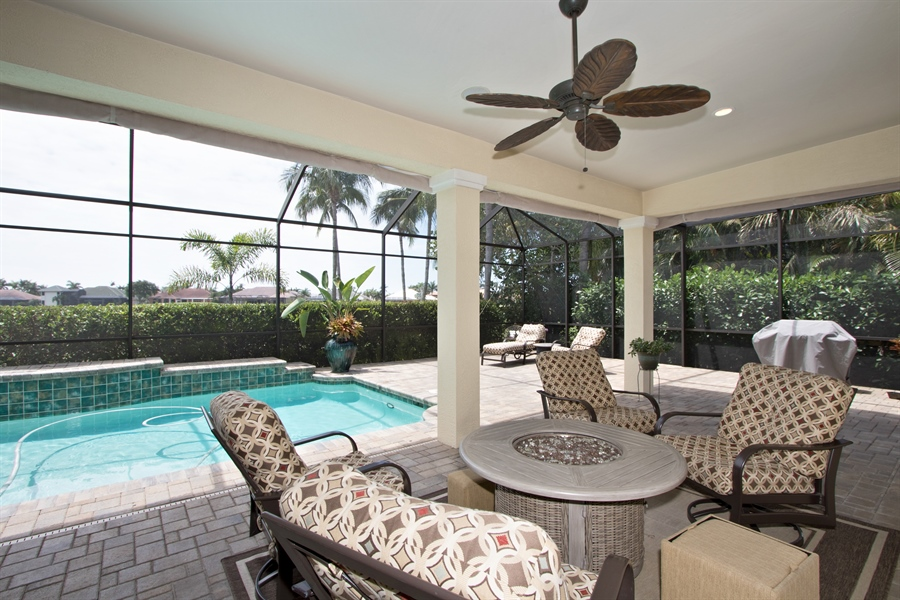 Real Estate Photography - 11361 Longwater Chase, Fort Myers, FL, 33908 - Loggia