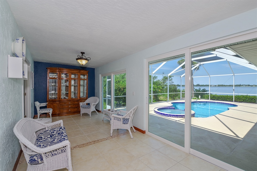 Real Estate Photography - 802 Loggerhead Island Dr., Satellite Beach, FL, 32937 - Sitting Room