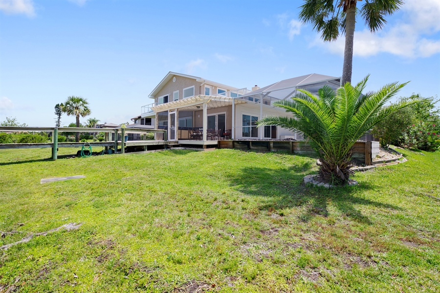 Real Estate Photography - 802 Loggerhead Island Dr., Satellite Beach, FL, 32937 - Back Yard