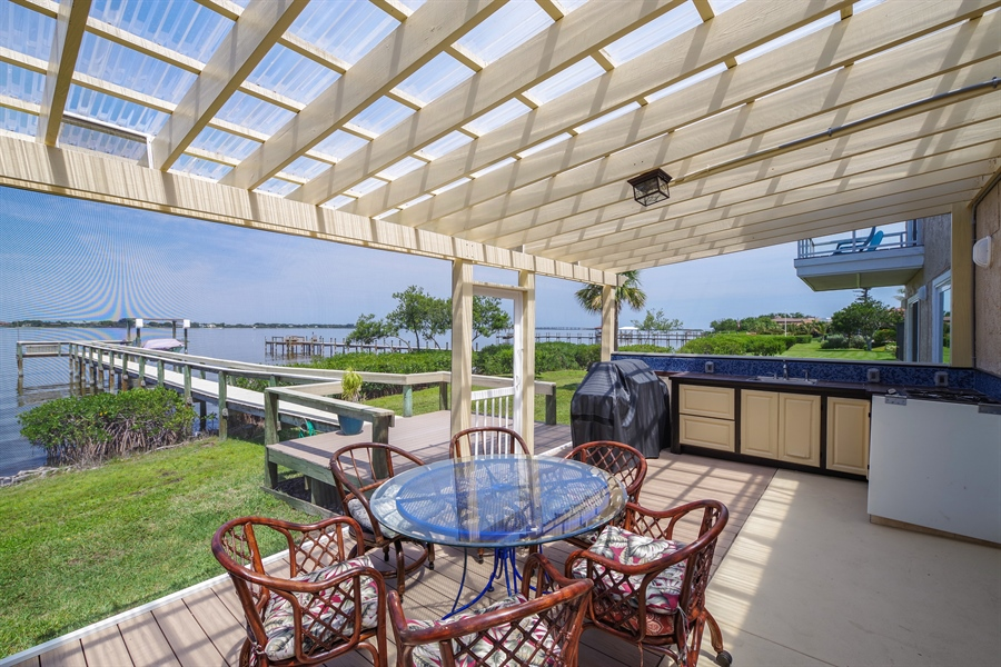 Real Estate Photography - 802 Loggerhead Island Dr., Satellite Beach, FL, 32937 - Porch