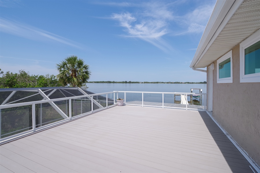 Real Estate Photography - 802 Loggerhead Island Dr., Satellite Beach, FL, 32937 - Patio