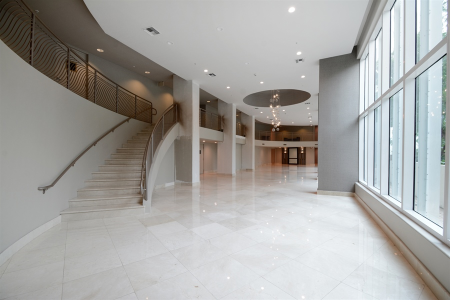 Real Estate Photography - 3370 Hidden Bay Dr., UPH 2706, Aventura, FL, 33180 - Lobby