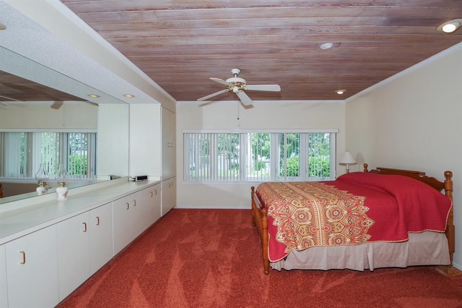 Real Estate Photography - 7001 Lake Drive, Belle Isle, FL, 32809 - Master Bedroom