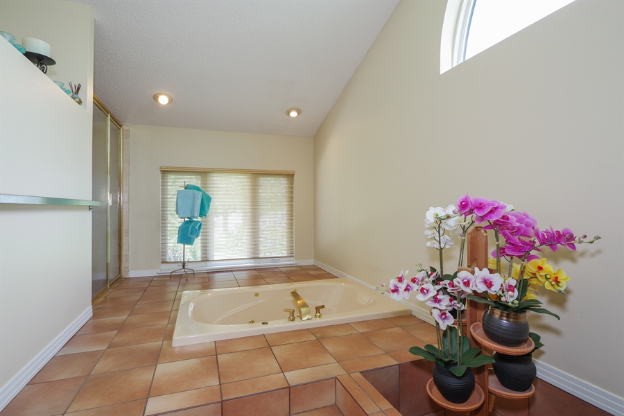 Real Estate Photography - 7001 Lake Drive, Belle Isle, FL, 32809 - Master Bathroom