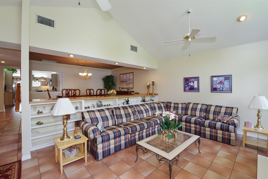 Real Estate Photography - 7001 Lake Drive, Belle Isle, FL, 32809 - Family Room