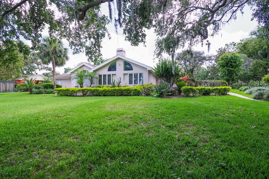 Real Estate Photography - 7001 Lake Drive, Belle Isle, FL, 32809 - Rear View
