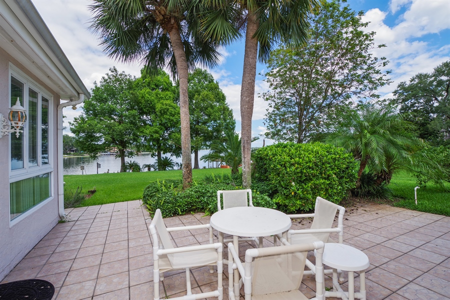 Real Estate Photography - 7001 Lake Drive, Belle Isle, FL, 32809 - Patio