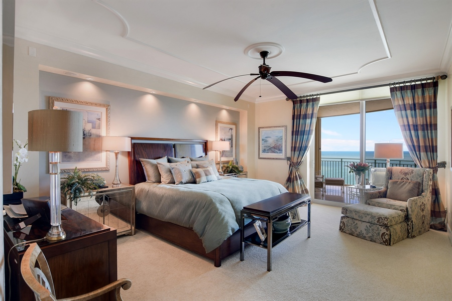 Real Estate Photography - 960 Cape Marco Dr, Unit 1504, Marco Island, FL, 34145 - Master Bedroom