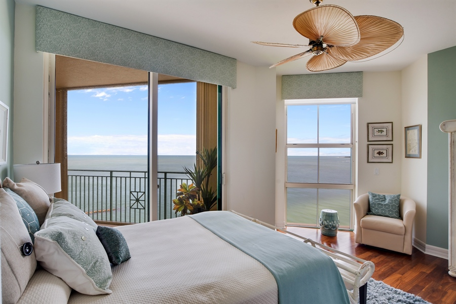 Real Estate Photography - 960 Cape Marco Dr, Unit 1504, Marco Island, FL, 34145 - Bedroom