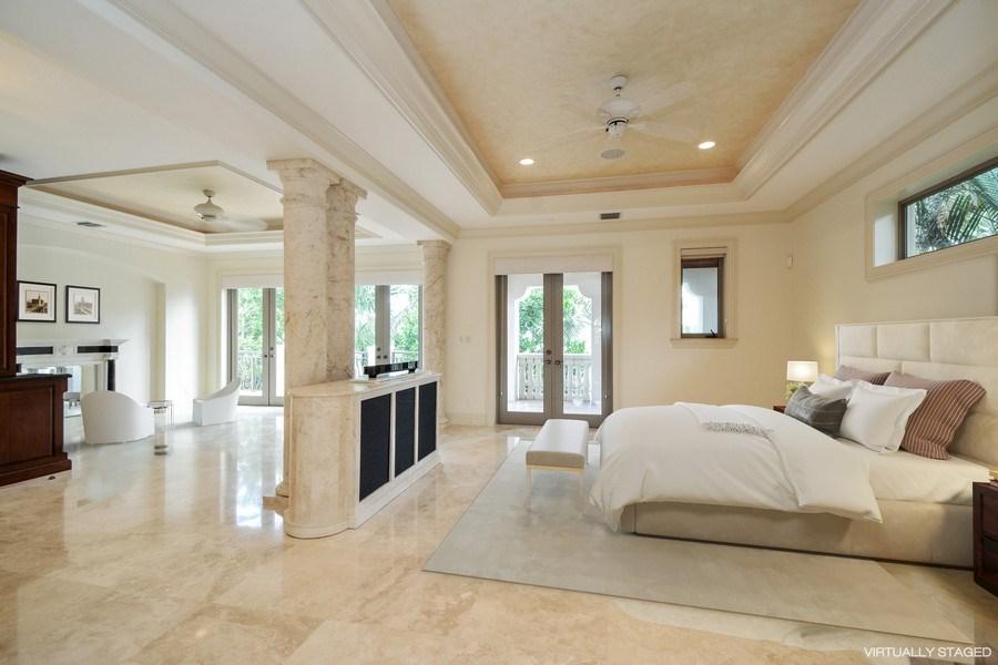 Real Estate Photography - 2584 Lucille Drive, Fort Lauderdale, FL, 33316 - Master Bedroom