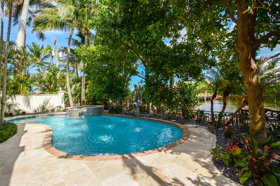 Real Estate Photography - 2584 Lucille Drive, Fort Lauderdale, FL, 33316 - Pool