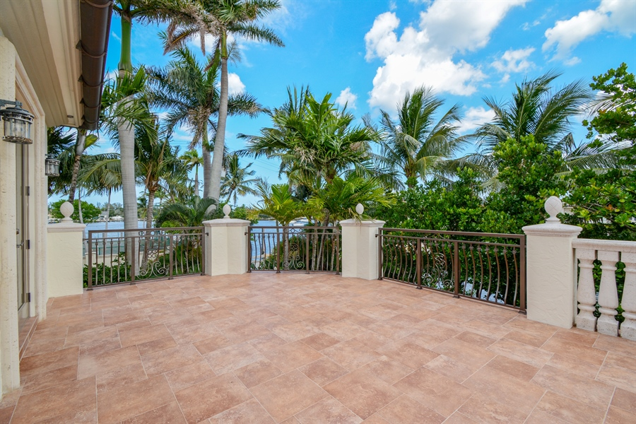 Real Estate Photography - 2584 Lucille Drive, Fort Lauderdale, FL, 33316 - Balcony For Bedrooms 2 and 3