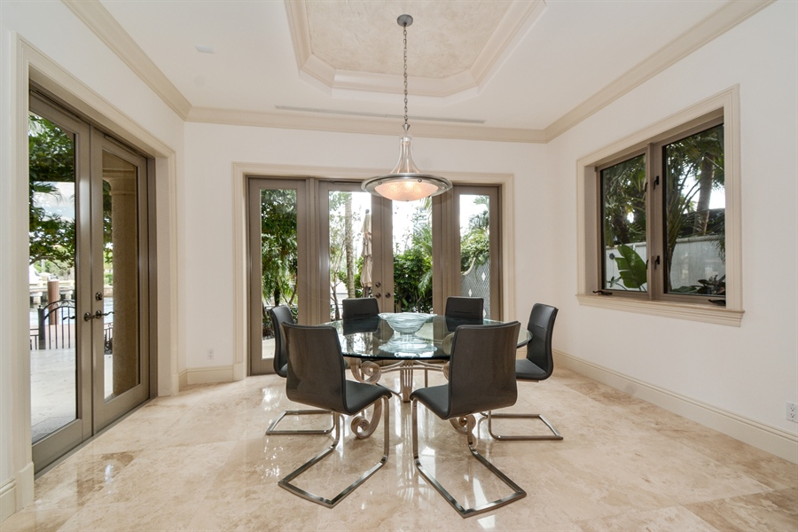Real Estate Photography - 2584 Lucille Drive, Fort Lauderdale, FL, 33316 - Breakfast Room
