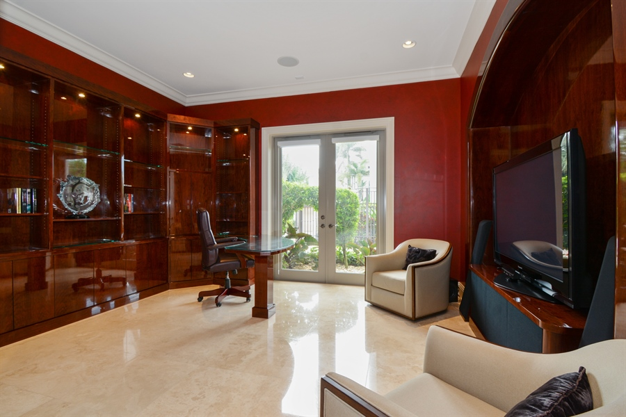 Real Estate Photography - 2584 Lucille Drive, Fort Lauderdale, FL, 33316 - Office / 5th Bedroom