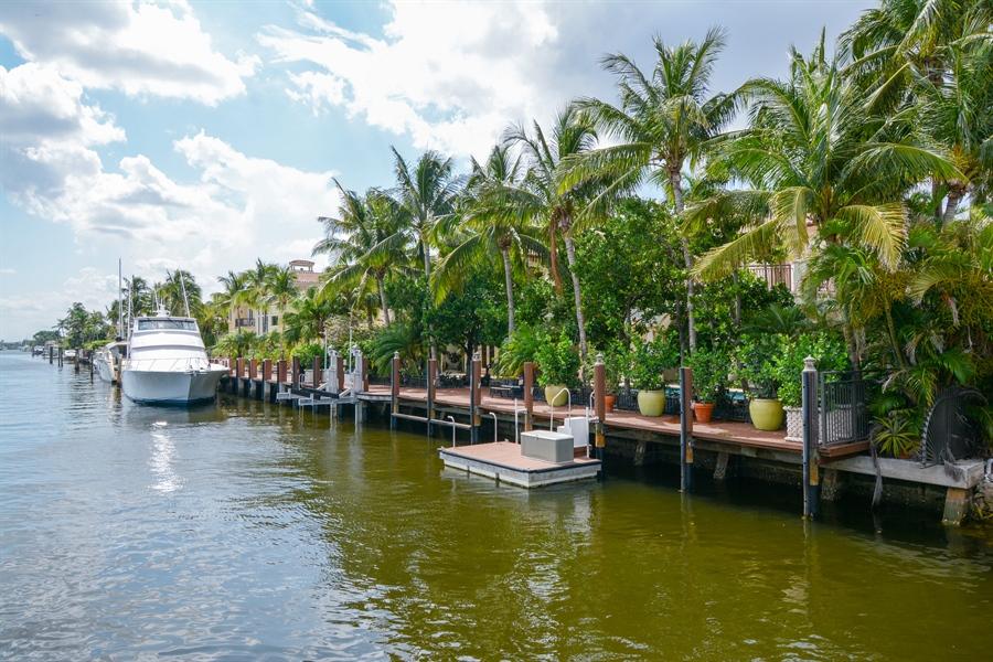 Real Estate Photography - 2584 Lucille Drive, Fort Lauderdale, FL, 33316 - Dock, Floating Dock, & Lift