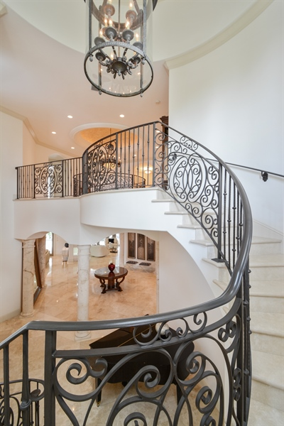 Real Estate Photography - 2584 Lucille Drive, Fort Lauderdale, FL, 33316 - Staircase