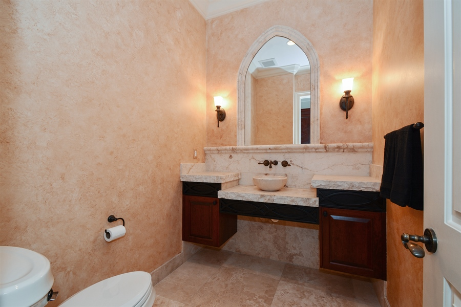Real Estate Photography - 2584 Lucille Drive, Fort Lauderdale, FL, 33316 - 1st Floor Powder Room