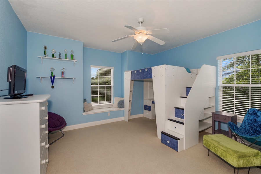 Real Estate Photography - 8211 Stone Mason Ct., Windermere, FL, 34786 - 3rd Bedroom