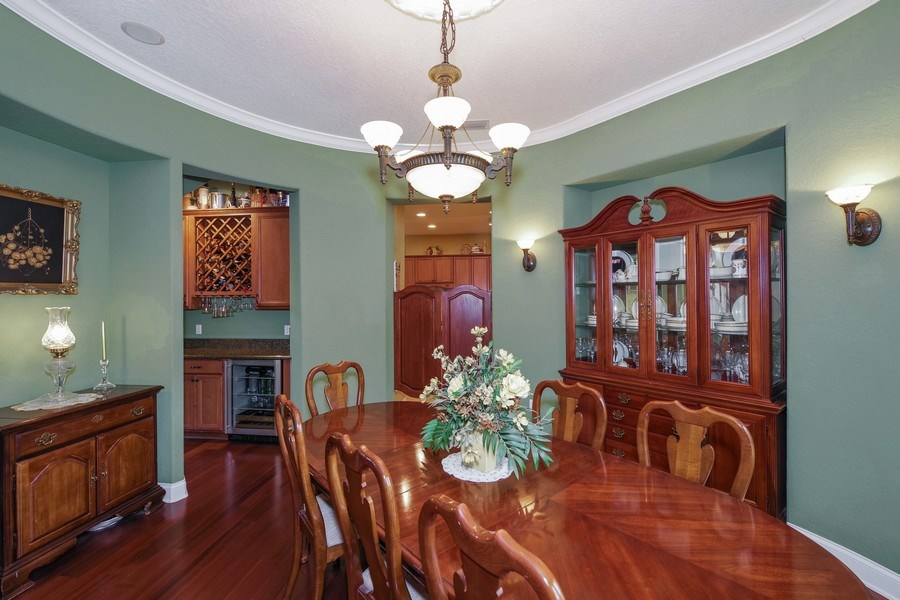 Real Estate Photography - 8211 Stone Mason Ct., Windermere, FL, 34786 - Dining Room