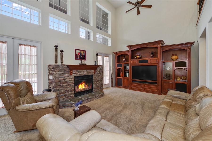 Real Estate Photography - 8211 Stone Mason Ct., Windermere, FL, 34786 - Family Room