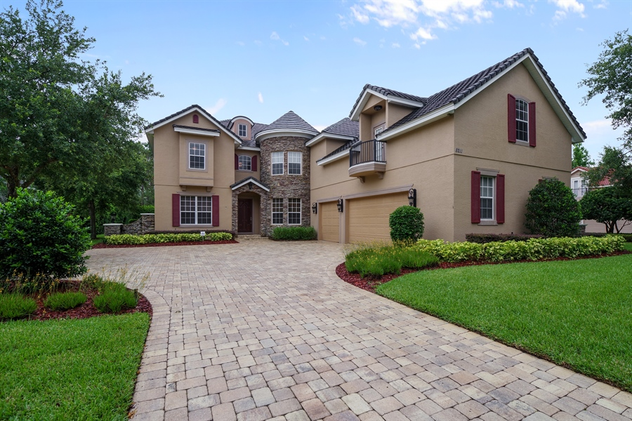Real Estate Photography - 8211 Stone Mason Ct., Windermere, FL, 34786 - Front View