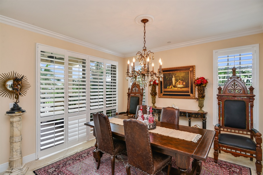 Real Estate Photography - 1508 Outrigger Landing, 1-310, Jensen Beach, FL, 34957 - Dining Room
