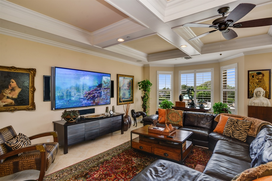 Real Estate Photography - 1508 Outrigger Landing, 1-310, Jensen Beach, FL, 34957 - Great Room