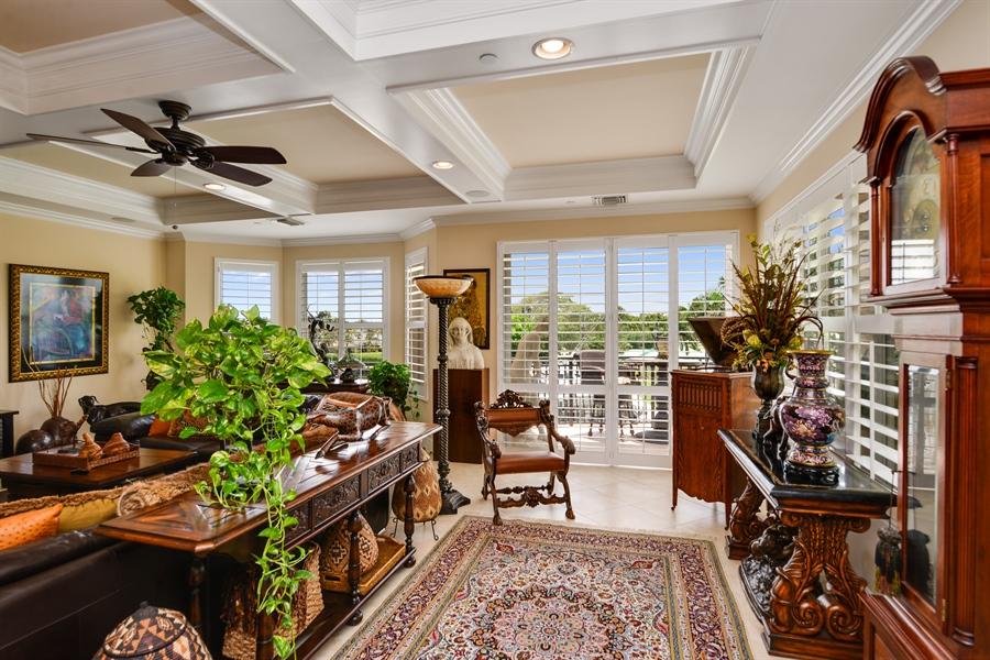 Real Estate Photography - 1508 Outrigger Landing, 1-310, Jensen Beach, FL, 34957 - Great room