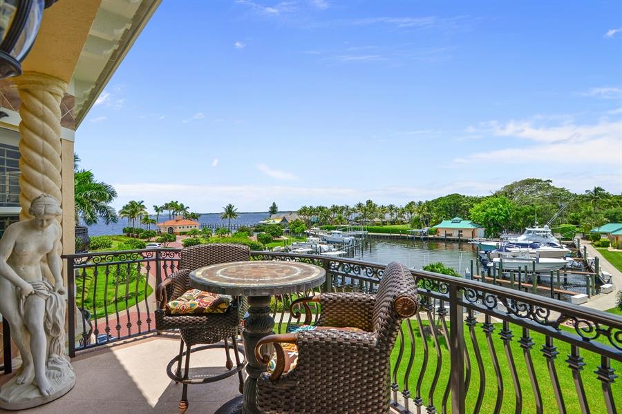 Real Estate Photography - 1508 Outrigger Landing, 1-310, Jensen Beach, FL, 34957 - Balcony