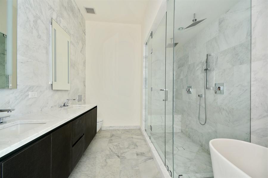Real Estate Photography - 1451 Brickell Ave., LPH5201, Miami, FL, 33131 - Master Bathroom