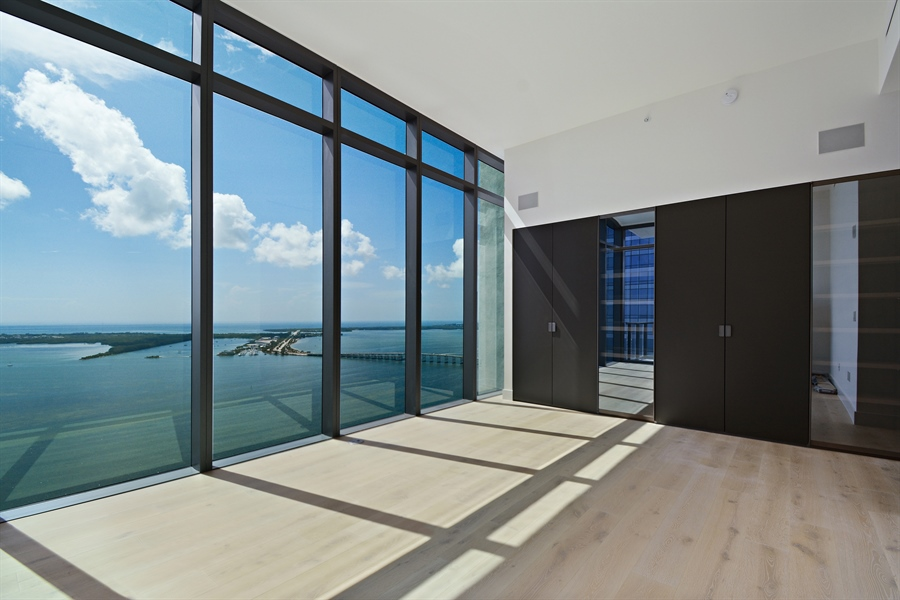 Real Estate Photography - 1451 Brickell Ave., LPH5201, Miami, FL, 33131 - Master Bedroom