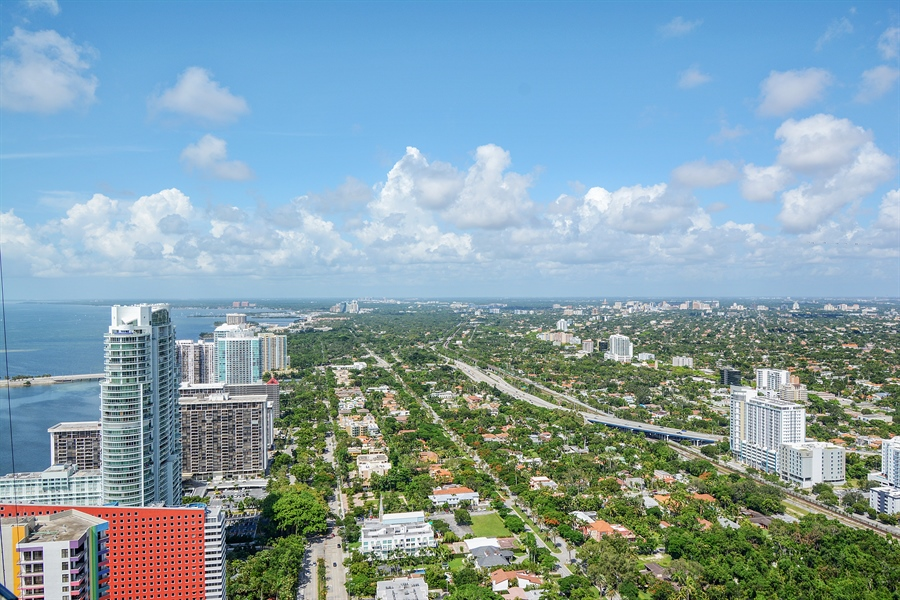 Real Estate Photography - 1451 Brickell Ave., LPH5201, Miami, FL, 33131 - View