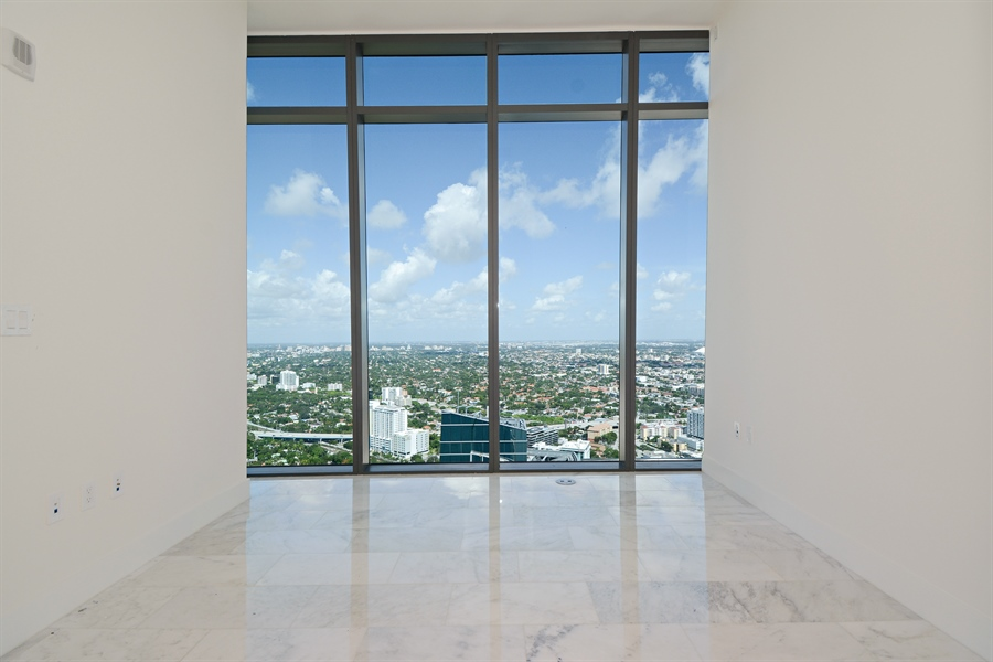 Real Estate Photography - 1451 Brickell Ave., LPH5201, Miami, FL, 33131 - 2nd Bedroom