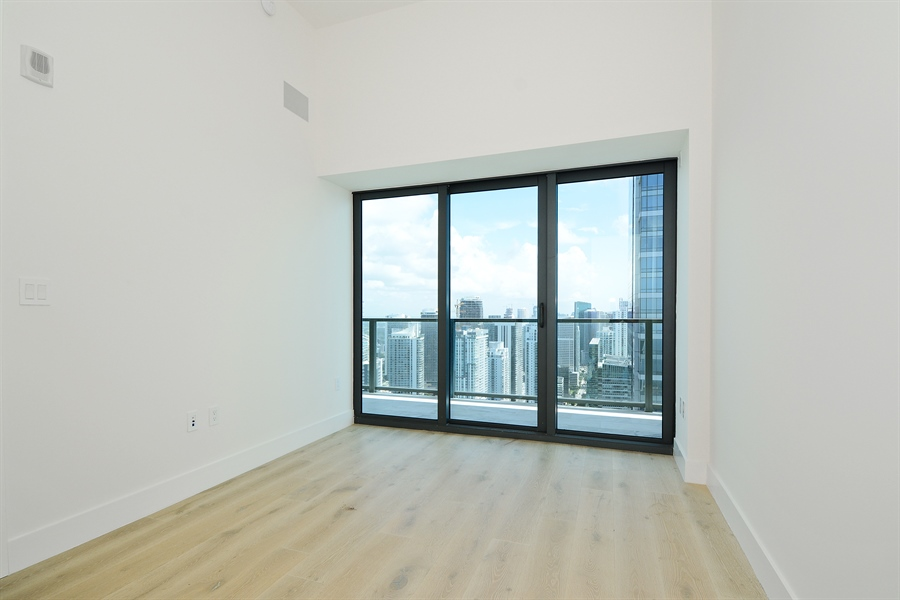 Real Estate Photography - 1451 Brickell Ave., LPH5201, Miami, FL, 33131 - 3rd Bedroom