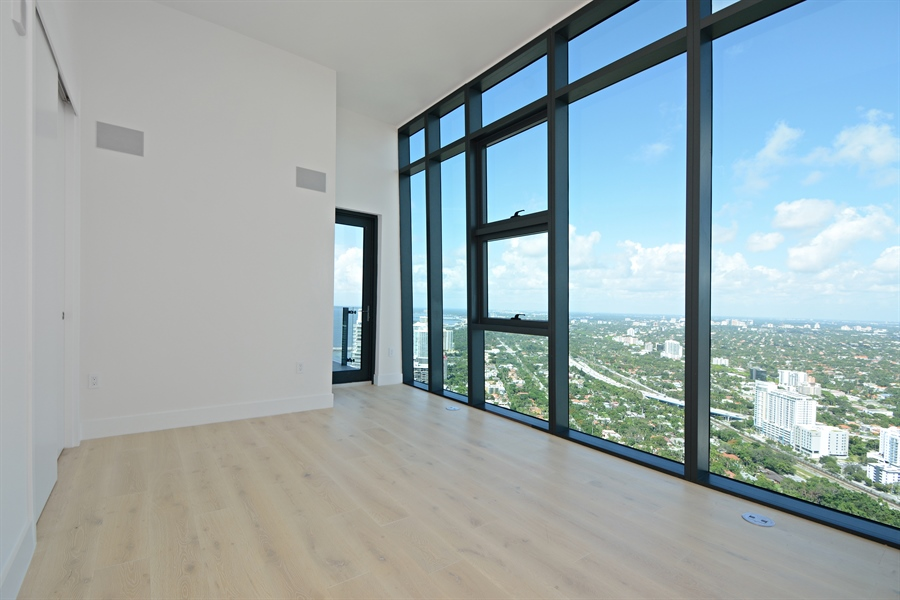 Real Estate Photography - 1451 Brickell Ave., LPH5201, Miami, FL, 33131 - Bedroom