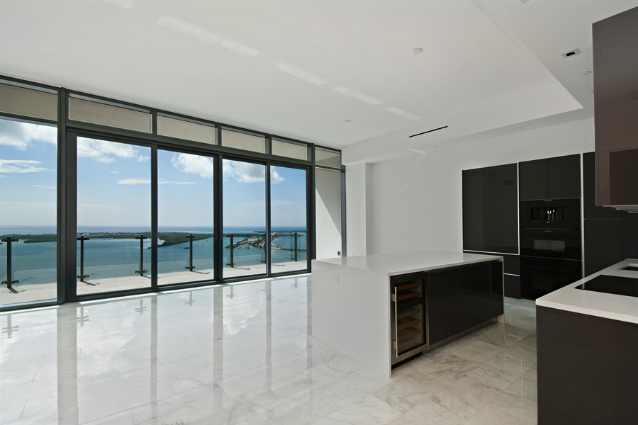 Real Estate Photography - 1451 Brickell Ave., LPH5201, Miami, FL, 33131 - Kitchen